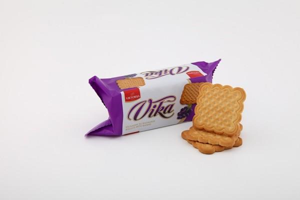 """Vika"" biscuits with raisins"