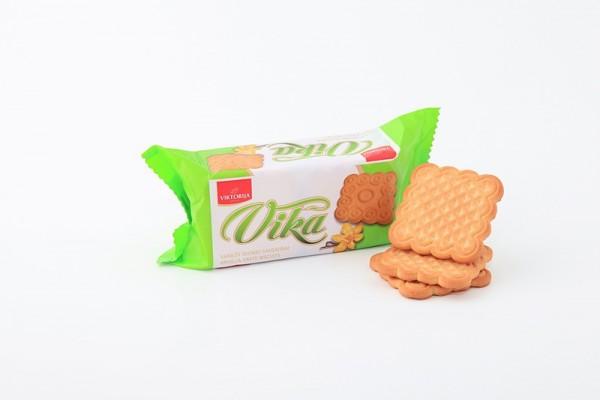 """""""Vika"""" vanilla taste biscuits"""
