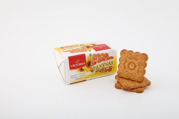 """Žilvinas"" sugar biscuits with sunflower seeds"
