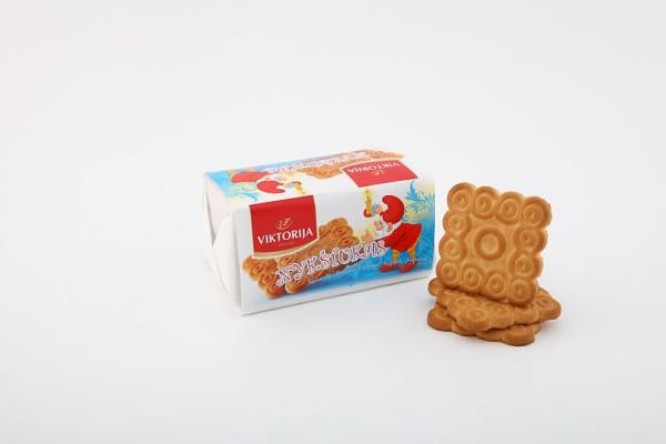"""Nykštukas"" sugar biscuits with vanillin"