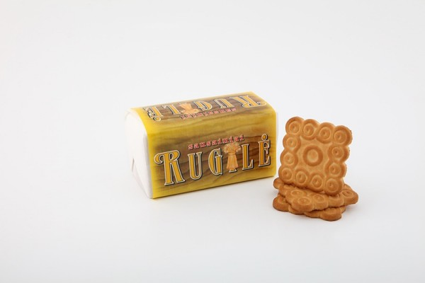 """Rugilė"" sugar biscuits with rye flour"