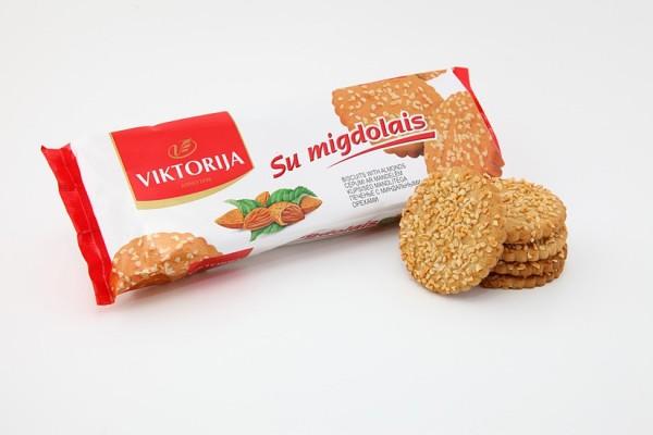 «Viktorija» печенье с миндальными орехами