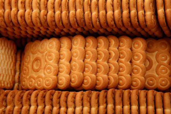 """Arbatiniai"" sugar biscuits with vanilla flavor"