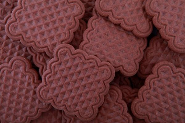 """""""Vika"""" chocolate taste biscuits"""