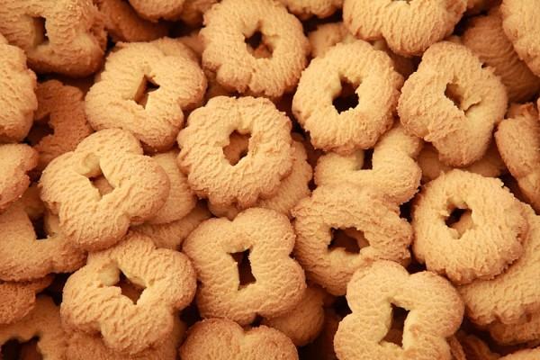 "Biscuits ""Žiedeliai"" with vanilla flavors"