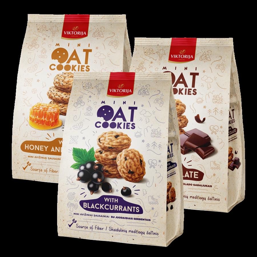Kekse in neuer Verpackung