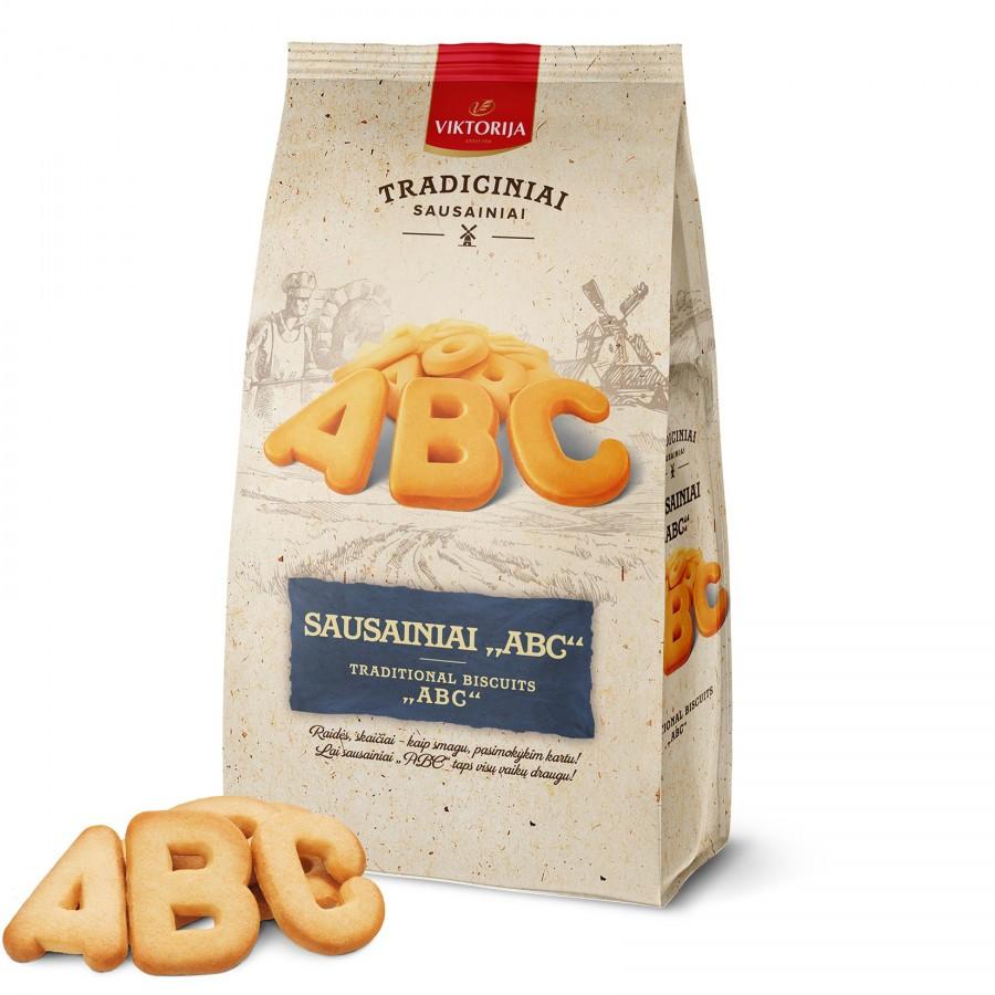 """Sausainiai """"ABC"""""""
