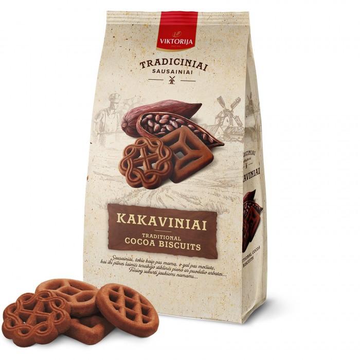 Какао печенье