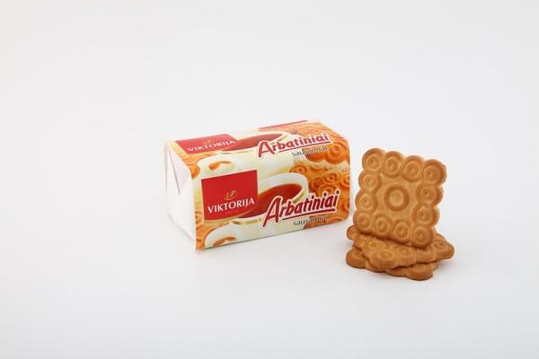 """Gezuckertes Teegebäck """"Arbatiniai"""" mit Vanillearoma"""