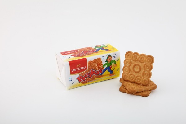 """Breikas"" sugar biscuits with butter flavor"