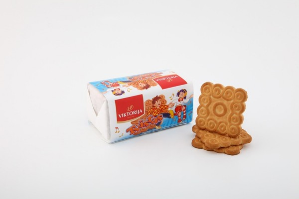 """""""Tvistas"""" sugar biscuits with vanillin and butter flavor"""