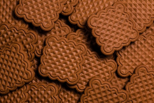 """""""Vika"""" šokolado skonio sausainiai"""